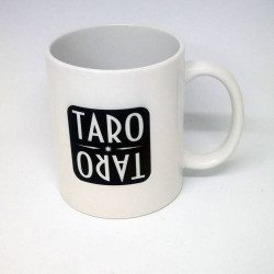 Cup with the TAROTARO logo