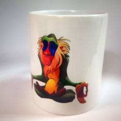 Чашка «Павиан медитирует»